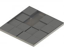 Primo 16 AG1 Teilweise Betonplatten