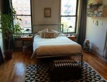 Bett aus Rohrverbindern