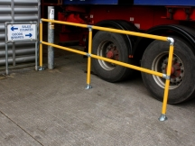 barrier-kit-loading-bay-golden-yellow