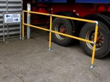 barrier-kit-loading-bay-golden-yellow
